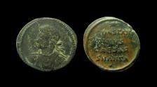 Ancient Coins - Constantine II as Caesar, 316-337 AD. AE Follis. Antioch mint, 1st officina.