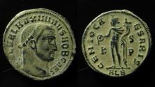 Ancient Coins - Maximinus II caesar, 305 – 308, AE 25 mm, Follis. Alexandria circa 308 - 310.