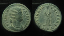 Ancient Coins - Fausta AE 19 mm, Follis.