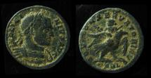 Ancient Coins - LICINIUS I, 308-324 AD. Mint of Arelate (ARLES) Emperor on the Wings of The Eagle