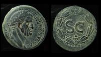 Ancient Coins - ANTIOCH, GALBA 68 -69 AD. 27mm, Exceptional Portrait !!!!