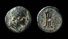 Ancient Coins - Seleukid Kingdom, Antiochos II Theos, 261 - 246 BC. AE 20 mm.