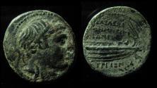Ancient Coins - Seleukid Kingdom, Demetrios I AE 21mm. Tyre mint