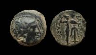 Ancient Coins - Seleukid Kingdom. Seleukos I Nikator, 312-281 BC. AE 20 mm .