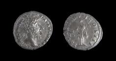 Ancient Coins - Marcus Aurelius AR Denarius. Rome, AD 167-168. (3.3g, 19mm)
