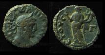 Ancient Coins - CARINUS. 284 AD. Tetradrachm, Alexandria, Egypt. 19mm. 7.2 gr. Year 3.