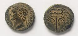 Ancient Coins - Judaea Capta, Domitian. 81-96 CE. AE 14 mm.