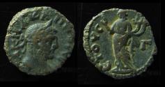 Ancient Coins - CARINUS. 284 AD. Tetradrachm, Alexandria, Egypt. 19mm. 7.2 gr. Year 3.