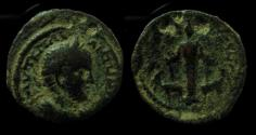 Ancient Coins - Elagabalus, AE 18 mm, Neapolis mint.