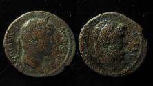 Ancient Coins - Hadrian AE Quadrans of Caesaria Cappadocia. Rare!