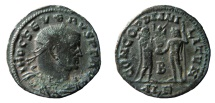 Ancient Coins - Severus II, 306-307 AD. AE Follis. Alexandria mint.