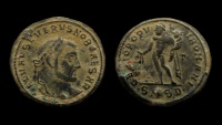 Ancient Coins - Severus II. As Caesar, 305-306 AD. AE Follis. Serdica mint.