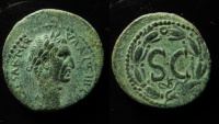 Ancient Coins - Nerva Æ As. Antioch, AD 97. 27mm, Bold portrait!!!