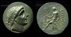 Ancient Coins - SELEUKID KINGS of SYRIA. Antiochos II Theos. 261-246 BC. AR Tetradrachm (28mm, 17 g).