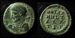 Ancient Coins - CONSTANTINE I. 307-337 AD. Æ FOLLIS, Thessalonica mint , RARE !
