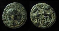 Ancient Coins - Hadrian AE 18mm of Berytos, Phoenicia. VF
