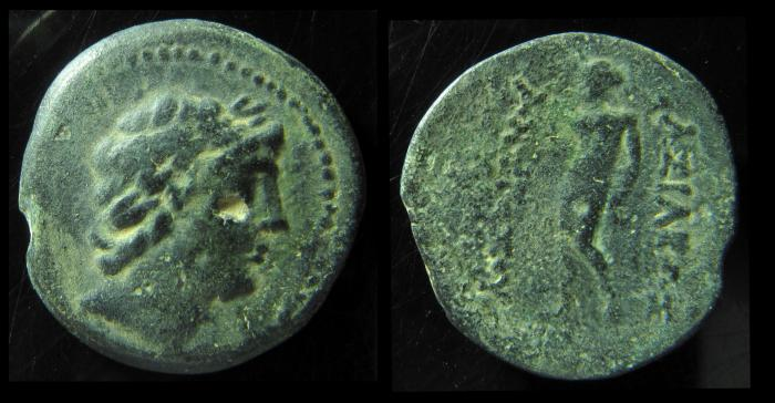Ancient Coins - SELEUKID KINGS of SYRIA. Antiochos III 'the Great'. 223-187 BC. Æ 27mm, Rare
