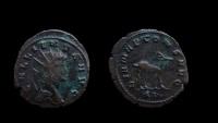 Ancient Coins - Gallienus, 253-268 AD. Antoninianus. Rome mint. 21 mm.