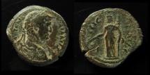 Ancient Coins - Egypt, Alexandria. Domitian, Diobol. AE 25 mm.