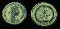 Ancient Coins - THEODOSIUS, 379 - 395 AD. VOT X MULT XX . Mint of Cyzicus