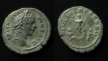 Ancient Coins - Caracalla AR Denarius. Struck 207 AD.