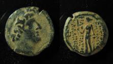 Ancient Coins - Seleucid Kingdom, Antiochos XII AE17mm. (4.1gm)