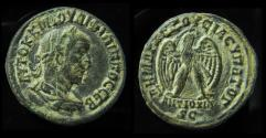 Ancient Coins - SYRIA, Antioch. Philip I,244-249 AD. Billon Tetradrachm. Dated COS 3 = 248 AD.