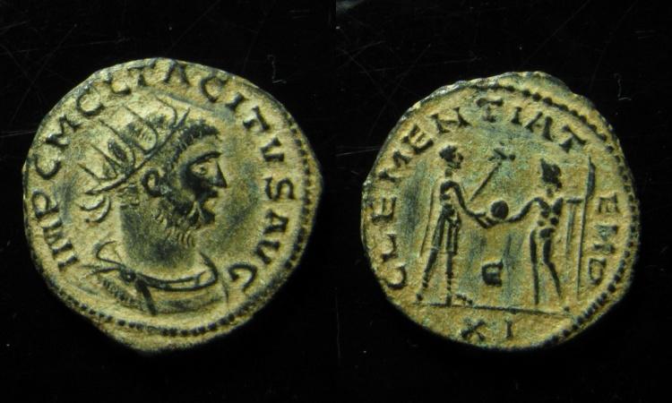 Ancient Coins - Tacitus AE Antoninianus. Antioch mint.