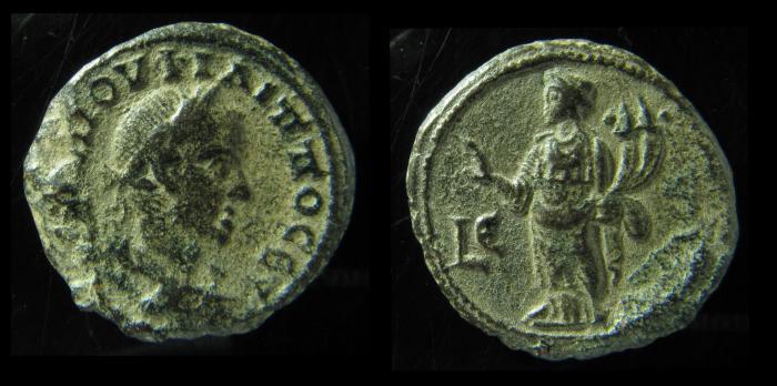 Ancient Coins - EGYPT, Alexandria. PHILIP I. 244-249 AD. Billon Tetradrachm. Homonoia. rare