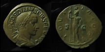 Ancient Coins - GORDIAN III (238-244). Sestertius. Rome. (19.3g)  Sharp details!