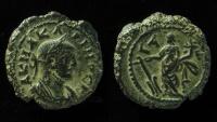 Ancient Coins - Carinus (Caesar, 282-283). Egypt, Alexandria. BI Tetradrachm , year 1 (282/3).