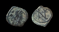 Ancient Coins - Anastasius I. 491-518. AE 9 mm. Constantinople mint.