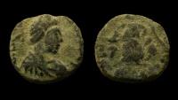 Johannes, 423-425 AD. AE 12 mm.