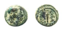 Ancient Coins - Sebaste, Samaria. Domitian. AE 11 mm.