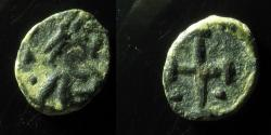 World Coins - VANDALS, Cross pattee and two pellets, 10MM, EX-RARE! AND BEAUTIFUL EXAMPLE!