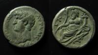 Ancient Coins - Hadrian BI Tetradrachm of Alexandria, Egypt. Year 20 = AD 135-136.