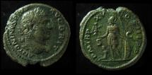 Ancient Coins - CARACALLA, 198-217 AD. AE AS. MARS, VICTORY & CAPTIVE