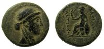 Ancient Coins - Seleukid Kingdom. Antiochos III the Great, 223-187 BC. AE 23 mm.