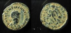 Ancient Coins - Valentinian II AE4. Cyzicus mint, EF!