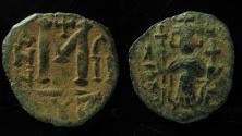 Ancient Coins - Unpublished!!!Constans II, AE Follis, Cyzicus mint. 20mm, Maybe unique!!