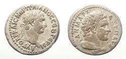 Ancient Coins - SELEUCIS and PIERIA, Antioch. Trajan. AD 98-117. Silver Tridrachm. Rare!