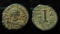 Ancient Coins - Justinian I, AE Decanummium. Antioch mint