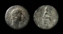 Ancient Coins - Cilicia, Epiphanea. Domitian, 81-96 AD. AE 17mm
