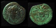 Ancient Coins - EGYPT, Alexandria. Claudius, 41-54 AD. AE21. Grain Ears & Poppies.