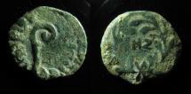 Ancient Coins - JUDAEA, PONTIUS PILATE. 26-36 AD. PROCURATOR JUDAEA. DATED HZ !!!SCARCE