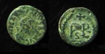 Ancient Coins - MARCIAN, 459-461 AD, Constantinople Mint. Monogram, Clear legend!
