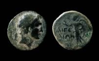 Ancient Coins - Cilicia, Aigeai. 1st Century BC. AE 18mm. Ex-Rare.