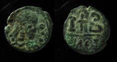 Ancient Coins - Irregular  imitation of Justinian,Alexandrian 12 nummi , 15mm