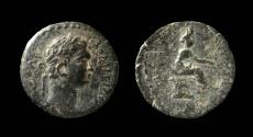 Ancient Coins - Cilicia, Epiphanea. Domitian, 81-96 AD. AE 17mm