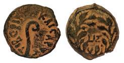 Ancient Coins - Judaea. Procurators. Pontius Pilate, 26-36 AD. AE 15 mm.